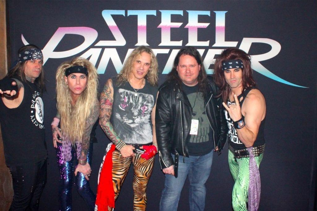 Steel Panther VIP Foto 01