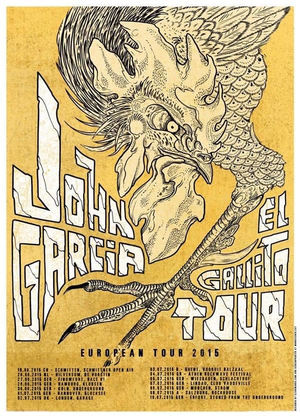 official Flyer: John Garcia Tour 2015