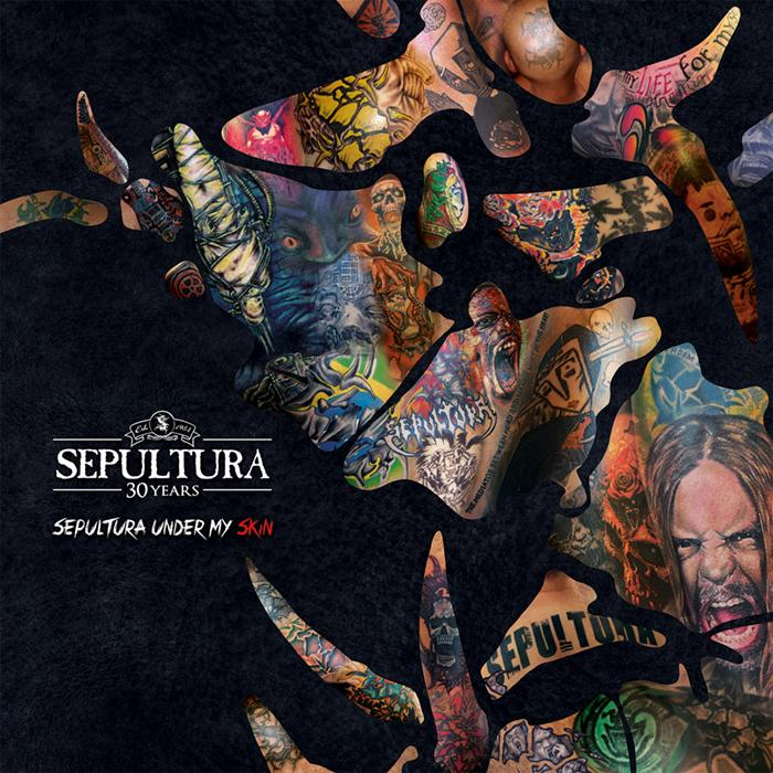 Cover: Sepultura -Under my Skin
