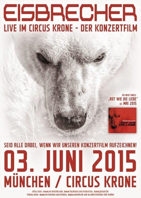 Flyer: Eisbrecher - DVD-Aufzeichnung