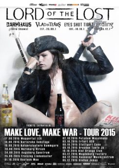 Lord Of The Lost: Make Love, Make War - Tour 2015