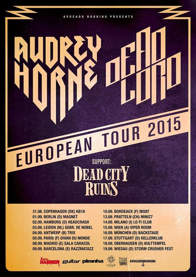 Official Flyer: Audrey Horne Tour 2015