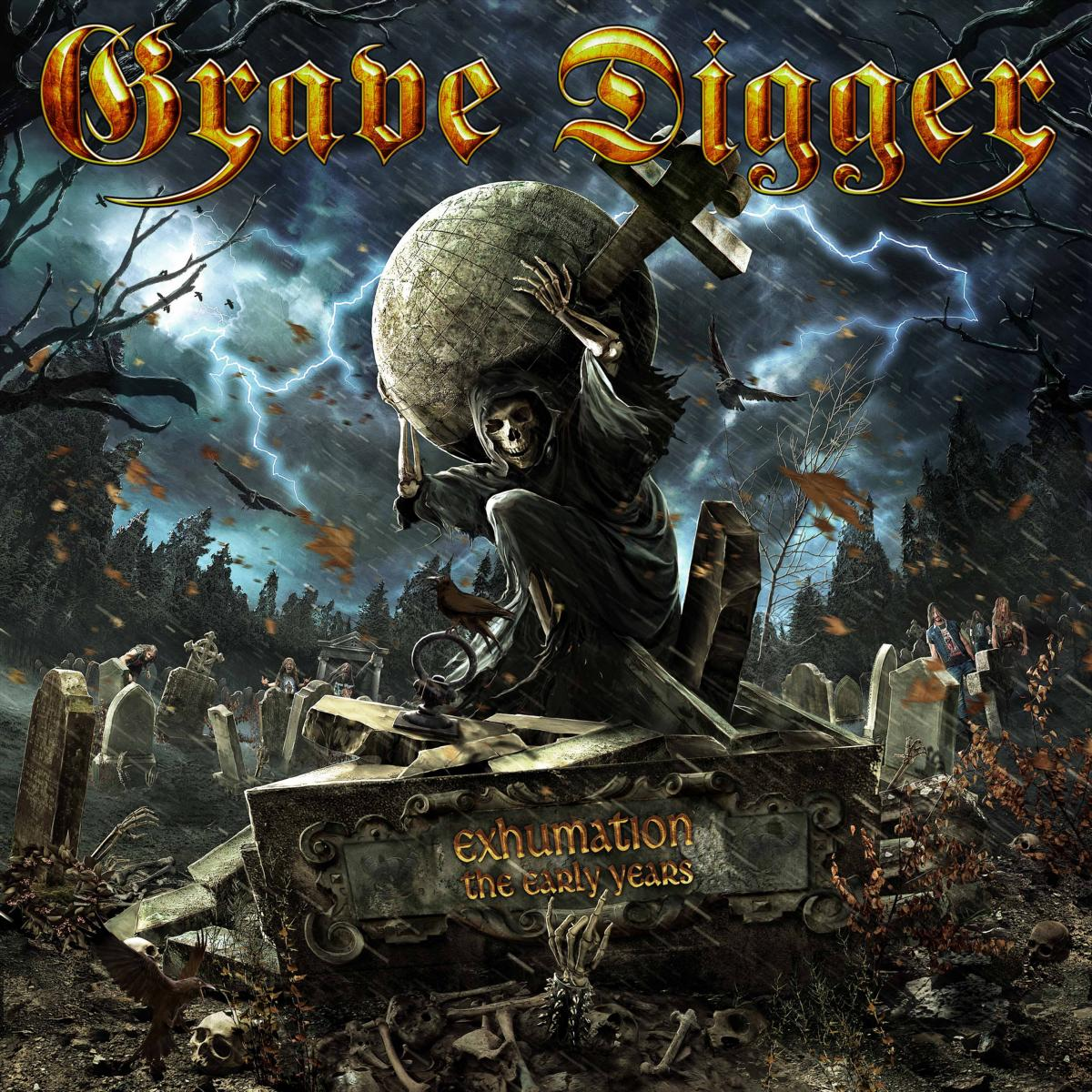 Cover: Grave Digger - Exhumation - The Early Years