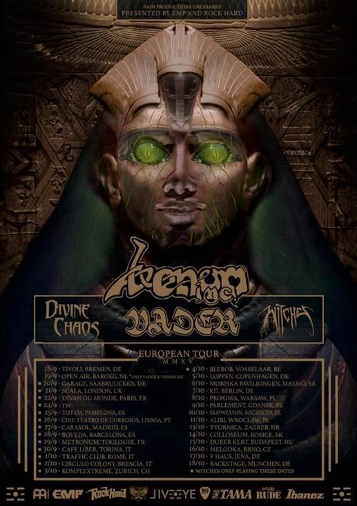 Flyer: Vader Tour 2015