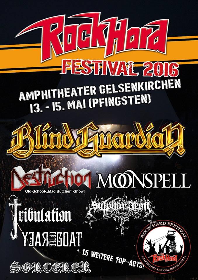 Flyer: Rock Hard Festival 2016 (Quelle: Rock Hard Festival - https://www.facebook.com/rockhardfestival)