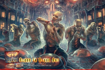 Flyer: Exodus - live 2016 (Quelle: Nuclear Blast)