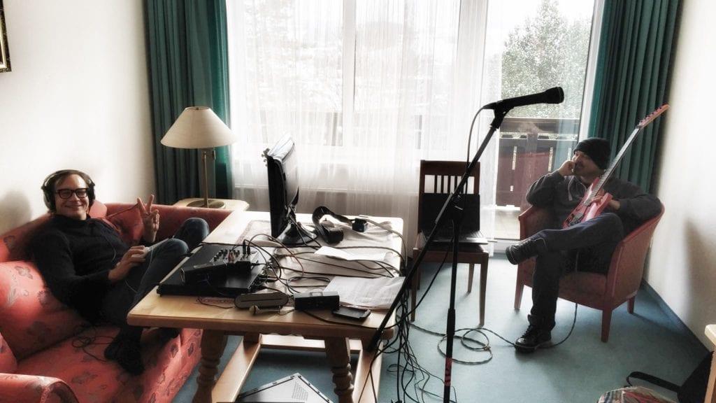 Bei der Arbeit am neuen Album… Foto: Vito C.