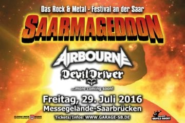 Saarmageddon - Rock- und Metal-Festival in Saarbrücken