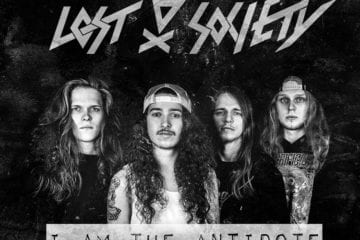Cover: Lost Society - I am the Antidote
