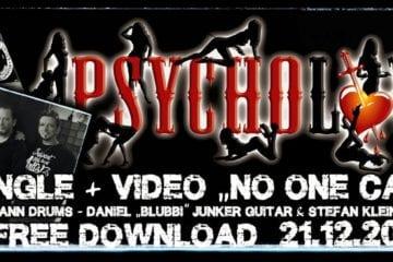 """Neue Single """"No One Cares"""" von Psycholove kostenlos"""