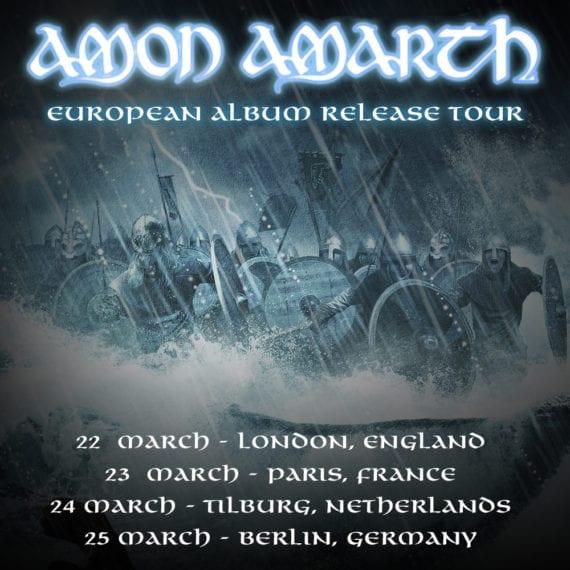 Amon Amarth - Album Release Tour