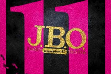 J.B.O. zeigen das Cover zu 11