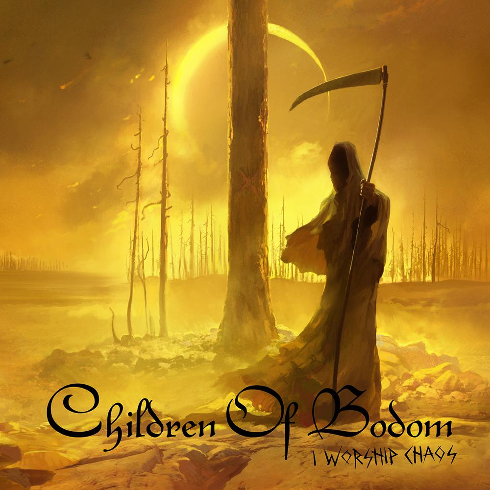 cover: children of bodom - I worship chaos