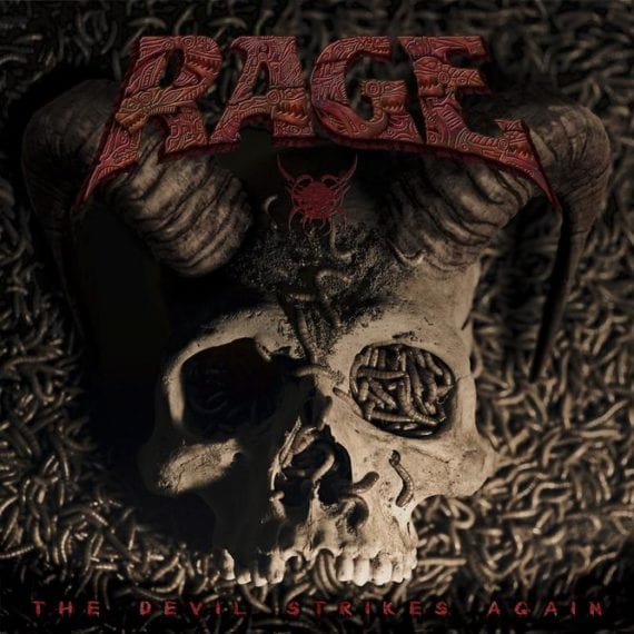 Cover: rage - the devil strikes again