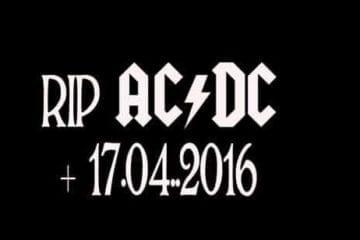 Das ist das Ende von AC/DC