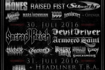 Official Flyer: Nord Open Air 2016