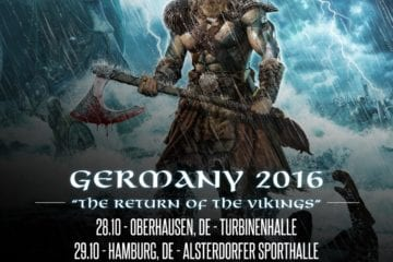 Official Flyer: Amon Amarth Tour 2016