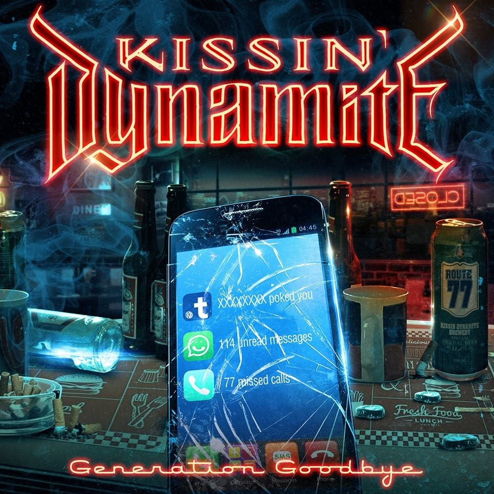Cover: Kissin' Dynamite - Generation Goodbye