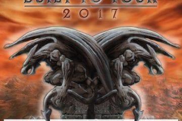 Official Flyer: Hammerfall - Built to Tour 2017