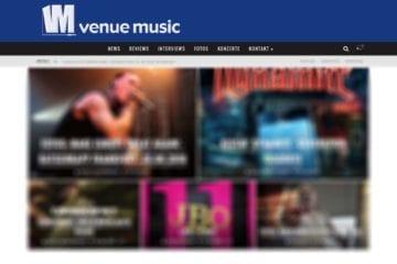 venue music: Neues Kleidchen und keine Banner mehr