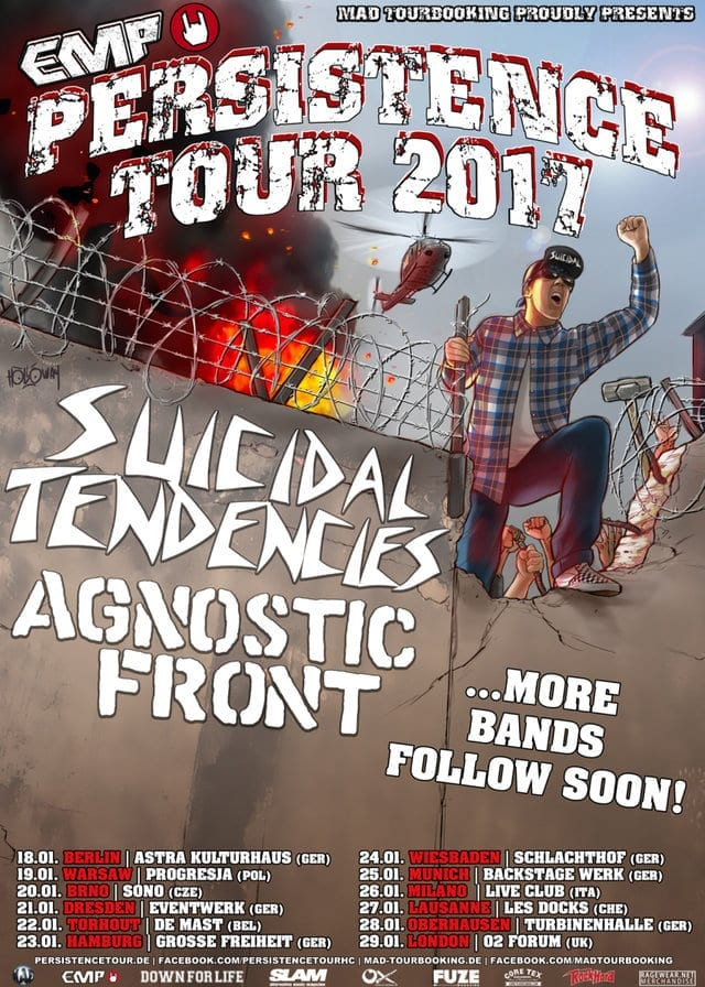 Flyer: Persistence Tour 2017