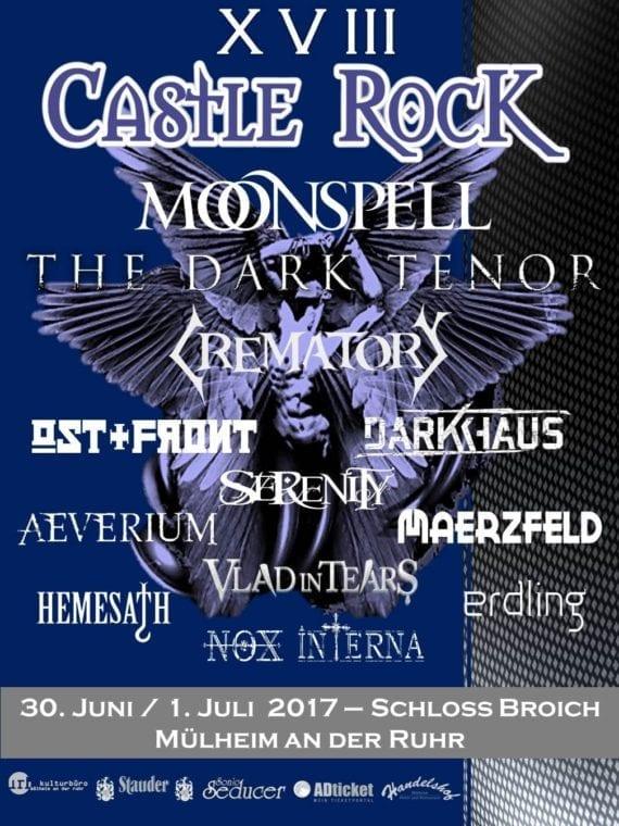 Official Flyer: Castle Rock 2017 (Quelle/Autor: Michael Bohnes)