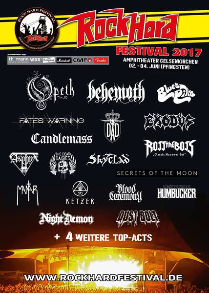 Official Flyer: Rock Hard Festival 2017