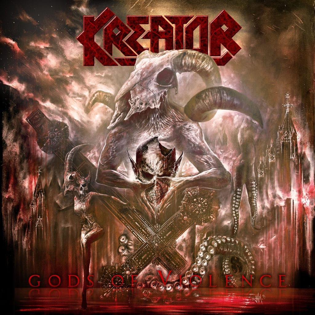 Cover: kreator - gods of violence