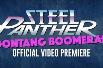 "Steel Panther: Videopremiere ""Poontang Boomerang"" bei Pornhub"
