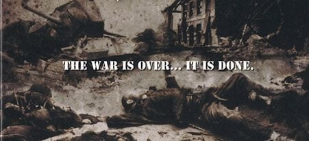 Hail of Bullets - The war is over (Quelle: http://www.hailofbullets.com)