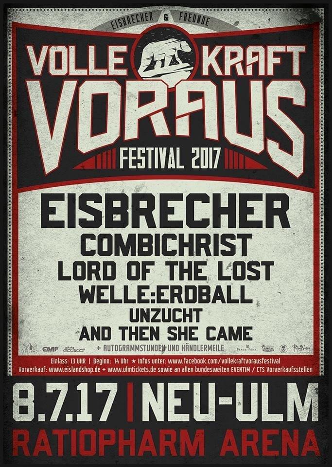 Official Flyer: Eisbrecher - Volle Kraft Voraus - Festival