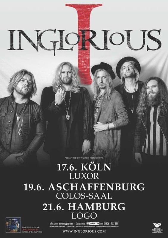 "Inglorious: Neues Album ""Inglorious II"" und Tour in Deutschland"