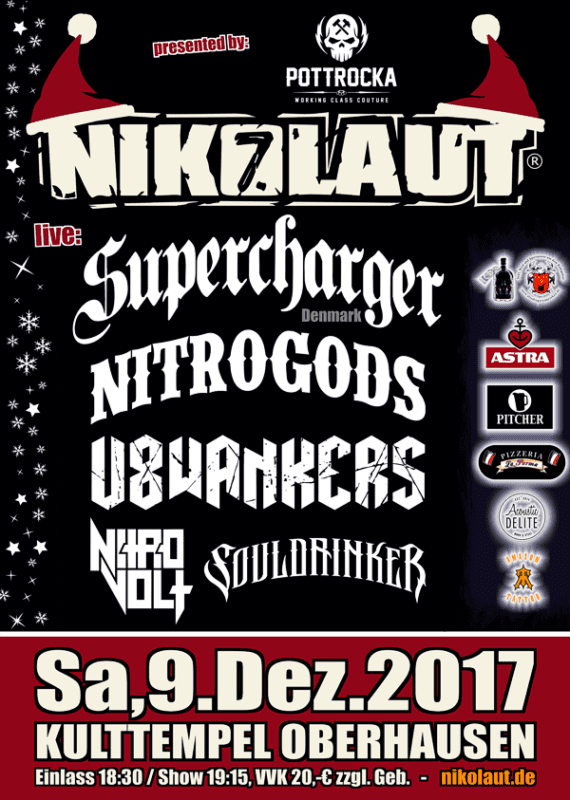 Nikolaut Festival 2017: Line Up und Ticket VVK