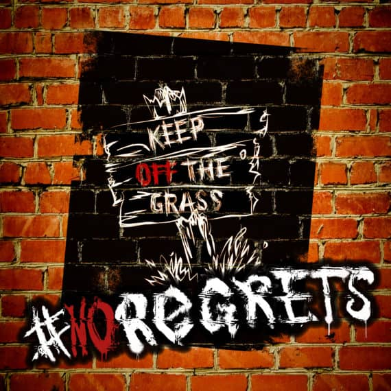 "Keep off the Grass: Debut-EP ""#NoRegrets"" ab sofort erhältlich"