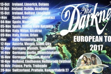 The Darkness: Europa-Tour im Oktober und November 2017