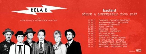 Bela B: Söhne & Schwestern Tour 2017