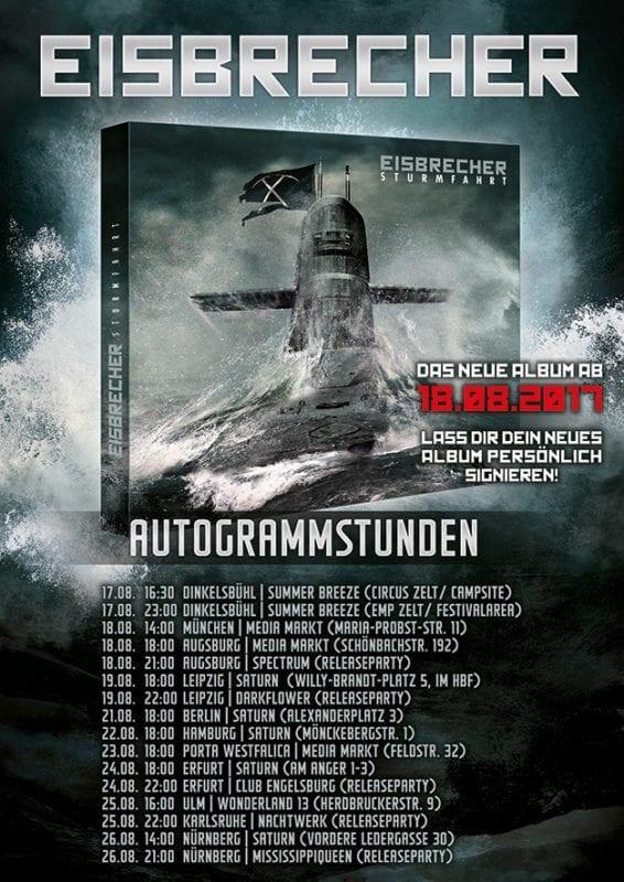 """Eisbrecher: Video """"Was ist hier los?"""", Tour & Autogrammstunden"""