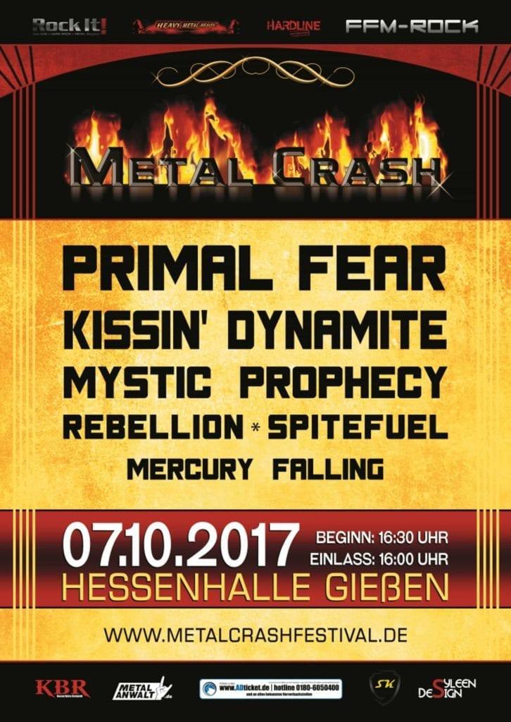 Metal Crash Festival 2017 in Gießen