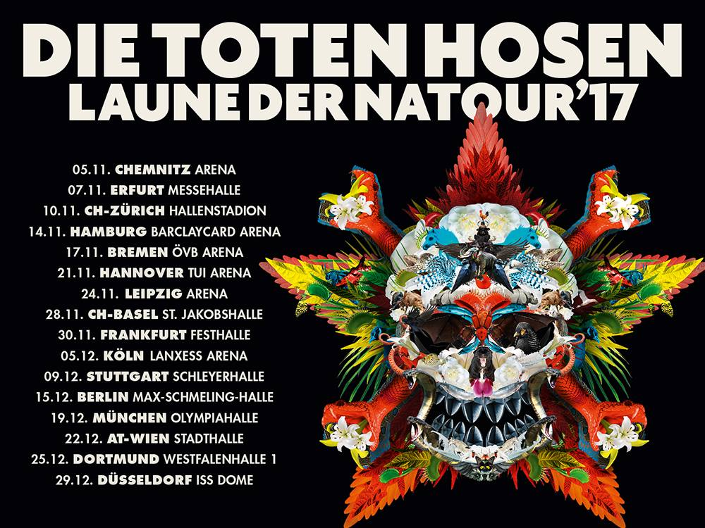 Die Toten Hosen: Laune der Natour 2017