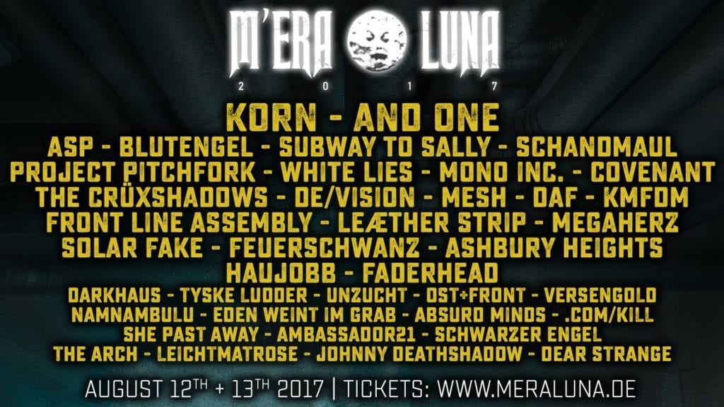 M'era Luna 2017: Festival im NDR Fernsehen