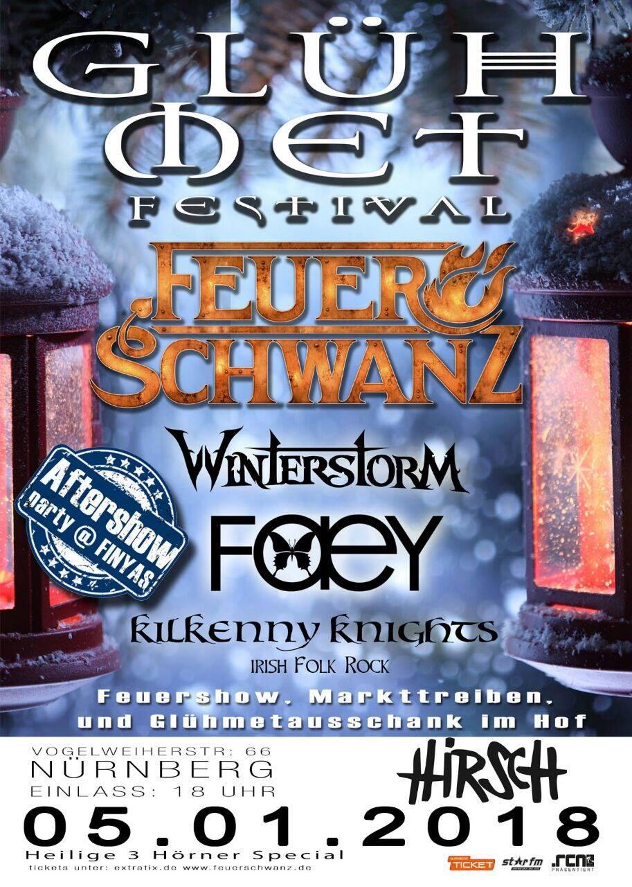 Feuerschwanz: Glühmet Festival 2018, Infos und Tickets