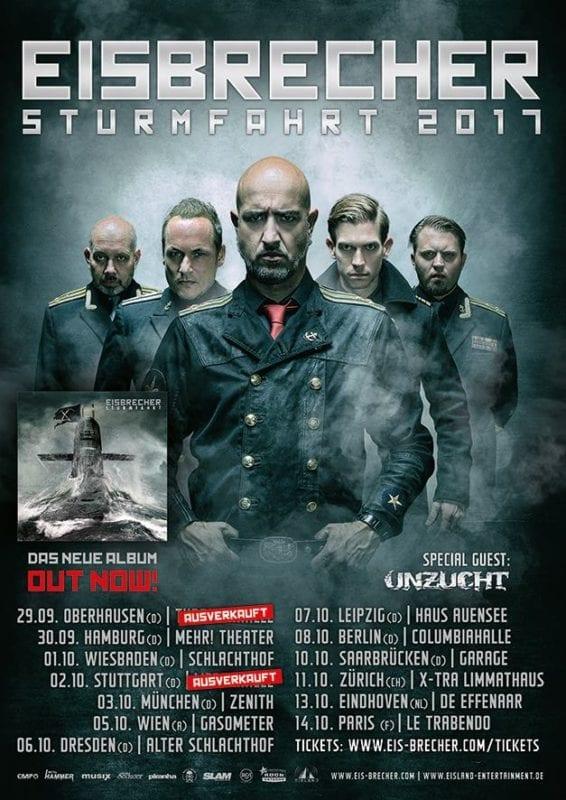 Official Flyer: Eisbrecher - Stumfahrt JAK