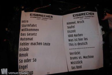 Fotos: Eisbrecher, Unzucht - 29.09.2017 - Turbinenhalle Oberhausen