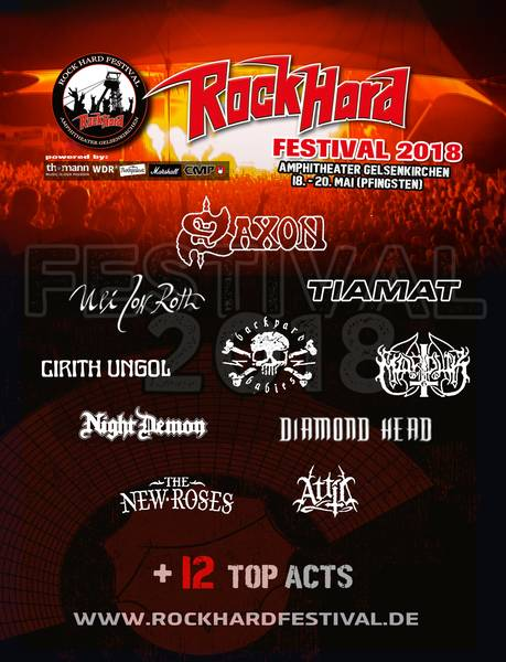 official Flyer: Rock Hard Festival 2018