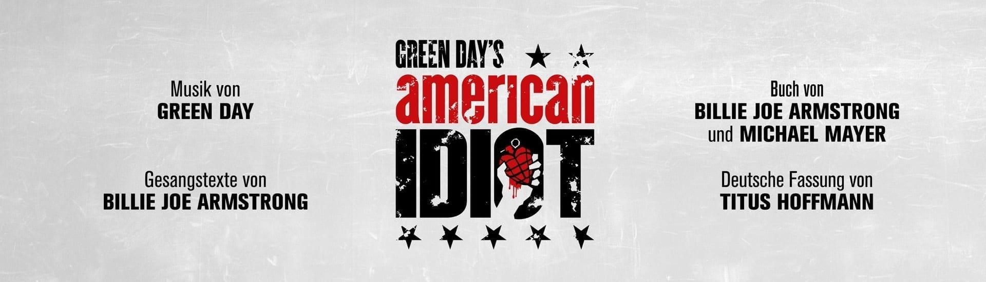 """Deutschsprachige Erstaufführung von Green Days """"American Idiot"""" in der Frankfurter Batschkapp 2018"""