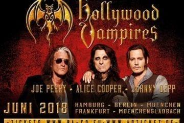 Hollywood Vampires kommen 2018 für fünf exklusive Shows nach Deutschland
