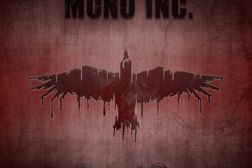 "Cover: ""MONO INC. - Symphonies of Pain"