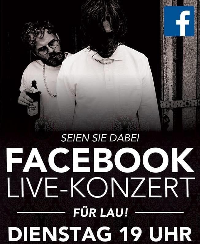 Kaffkönig: Live-Konzert auf Facebook