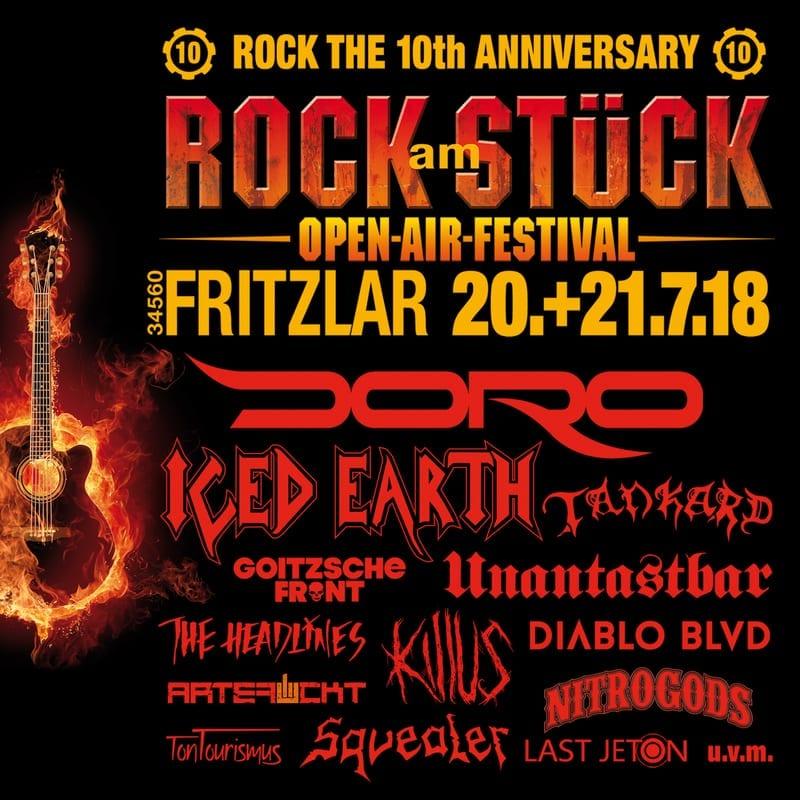 10 Jahre Rock am Stück - Jubiläum 2018