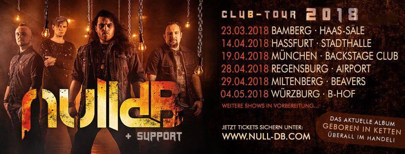nulldB auf erster eigener Headliner Tournee